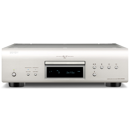 Denon CD/SACD Player DCD-2500NE (Silver)
