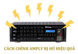 Cách chỉnh amply karaoke không bị hú hiệu quả trong 3 bước